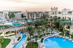 Five star hotel in Egypt royalty free stock images