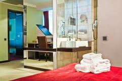 five star hotel interior Royalty Free Stock Photos