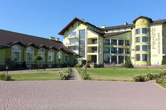 Five-star hotel on the outskirts Stock Photography