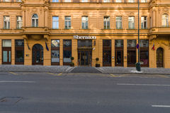 Five-star hotel Sheraton. Prague Royalty Free Stock Images