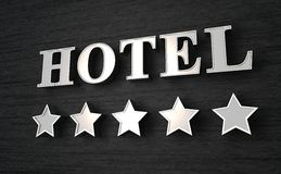 Five star hotel Royalty Free Stock Image