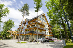 Five-star luxury hotel named Rysy in Zakopane Stock Photo