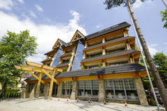 Five-star luxury hotel named Rysy in Zakopane Stock Photography