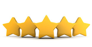 Five stars Stock Images