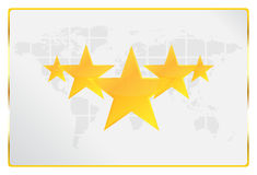 Five Stars Quality Worldwide Card Stock Photography