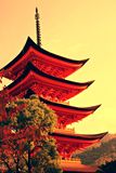Five-storey pagoda Royalty Free Stock Photo