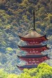 Five-storey pagoda  Stock Image