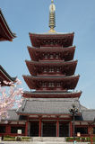 Five-Storied Pagoda Stock Photos