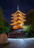 Five-storied Pagoda at Sensoji Temple Royalty Free Stock Photography
