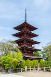 Five-story pagoda Stock Photos