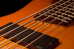 Five String Bass Angle Royalty Free Stock Images