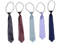 Five tie an elastic band Royalty Free Stock Photo