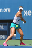Five times Grand Slam champion Maria Sharapova practices for US Open 2014 Stock Image