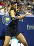 Five times Grand Slam Champion Maria Sharapova of Russia in action during her US Open 2017 first round match Stock Photography