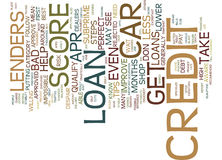 Five Tips For Car Loans With Less Than Perfect Credit Text Background Word Cloud Concept Stock Photo