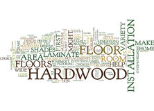 Five Tips To Help Choose The Proper Hardwood Floor Text Background Word Cloud Concept Royalty Free Stock Image
