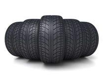 Five tire car Stock Photos
