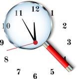 Five to twelve clock Royalty Free Stock Photo