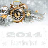 Five to Twelve, Happy New Year! Royalty Free Stock Photo