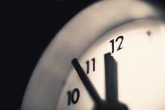 Five to Twelve O'clock Royalty Free Stock Image