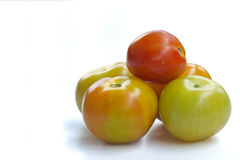 Five tomato. Tomato is very food for help Royalty Free Stock Photo