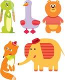 Five Toy Set Royalty Free Stock Photos