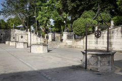 Five Wells Square in Zadar Royalty Free Stock Photos
