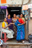 Five women in Surat, India Stock Images