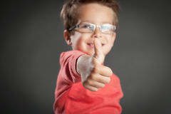 Five Year Old Boy stock photography