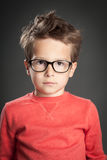 Five Year Old Boy stock image