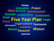 Five Year Plan Brainstorm Means Strategy For. Five Year Plan Brainstorm Meaning Strategy For Next 5 Years Royalty Free Stock Images