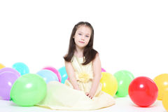 Five years' girl Royalty Free Stock Photography