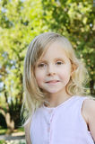 Five years old girl Royalty Free Stock Photos