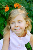Five years old girl Royalty Free Stock Image