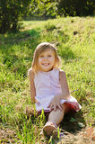 Five years old girl Stock Photography