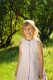 Five years old girl Royalty Free Stock Images