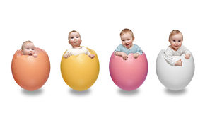 Easter boys Royalty Free Stock Image