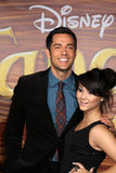 Fivel Stewart, Zachary Levi Stock Photo