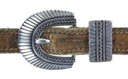Fivela de cinto ornamentado Imagens de Stock Royalty Free