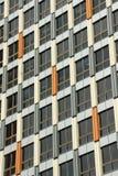 Fivex大厦的外部,在伊丽莎白的角落的商业财产和碎片街道,墨尔本 库存图片