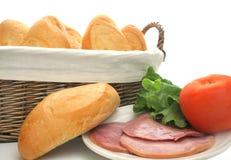 Fixações do sanduíche Foto de Stock