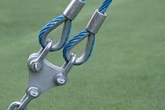 Fixation de corde Photo libre de droits