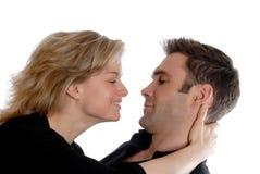 Fixation de couples Photographie stock libre de droits