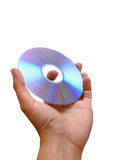 fixation de main de dvd Image libre de droits