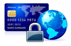Fixe o pagamento em linha. Imagem de Stock Royalty Free