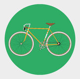 Fixed gear bicycle Royalty Free Stock Images