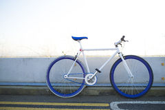 A fixed-gear bicycle Royalty Free Stock Photography