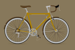 Fixed Gear Bicycle Vector IllustationE. Fixed Gear Bicycle Vector Illustation Stock Image
