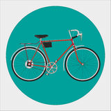 Fixed gear bicycle Stock Image