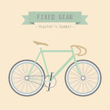 Fixed gear Royalty Free Stock Photo